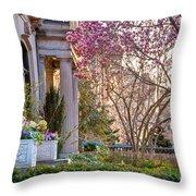 Back Bay Spring Throw Pillow
