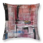 Back Door Throw Pillow