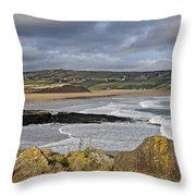 Back Strand 5 Throw Pillow