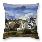 Back To Shoreham Throw Pillow