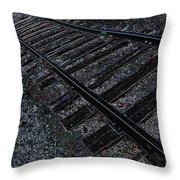 Back Trackin Throw Pillow