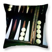 Backgammon Anyone Throw Pillow