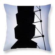 Backlight Structure Throw Pillow