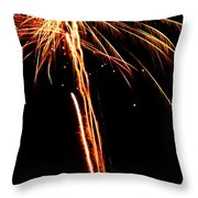 Backyard Fireworks 2012 3 Throw Pillow