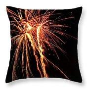 Backyard Fireworks 2012 5 Throw Pillow