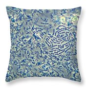 Bacteria, Phase Contrast Throw Pillow