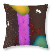Bacterial Conjugation, Tem Throw Pillow