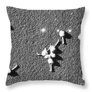 Bacteriophage T4 Throw Pillow