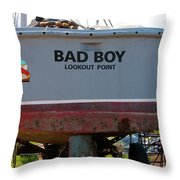 Bad Boy 0118 Throw Pillow