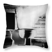 Bad Idea Throw Pillow by Gabe Arroyo