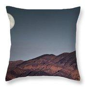 Bad Moon Rising Throw Pillow