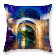 Bad Weather Coming Throw Pillow