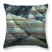 Badlands Splendor Throw Pillow