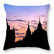 Bagan Throw Pillow