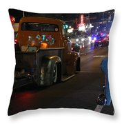 Bagged And Dragged In Austin Texas Throw Pillow