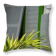 Bahama Conch House Throw Pillow