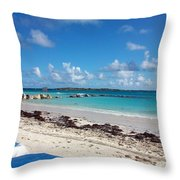 Bahamas Cruise To Nassau And Coco Cay Throw Pillow