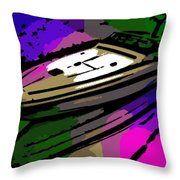 Baja Speed Boat Throw Pillow