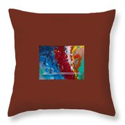 Balancing Act Throw Pillow by Snake Jagger