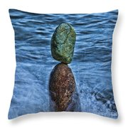 Balancing Throw Pillow