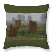 Bales For Sails Throw Pillow