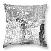 Ball, 1858 Throw Pillow by Granger