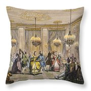 Ball, 18th Century Throw Pillow by Granger