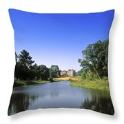 Ballinlough Castle, Clonmellon, Co Throw Pillow