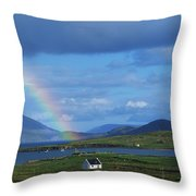 Ballinskellig, Ring Of Kerry, Co Kerry Throw Pillow