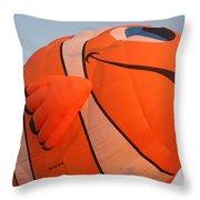 Balloon-nemo-7655 Throw Pillow