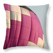 Balloon-purple-7462 Throw Pillow