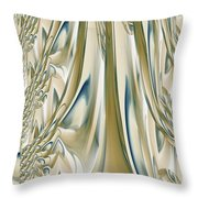 Ballroom Gown Throw Pillow by Maria Urso