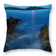 Ballycotton, County Cork, Ireland Throw Pillow