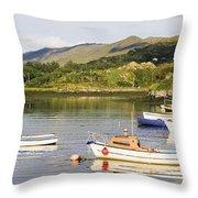 Ballycrovane, County Cork, Ireland Throw Pillow