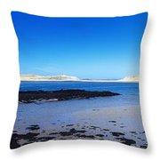 Ballyness Bay, County Donegal, Ireland Throw Pillow