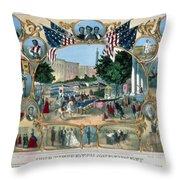 Baltimore: 15th Amendment Throw Pillow