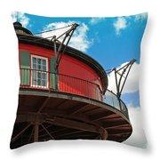 Baltimore Lighthouse Throw Pillow