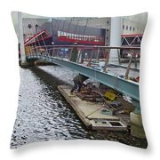 Baltimore Maintenance Throw Pillow
