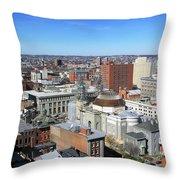 Baltimore Nw Throw Pillow