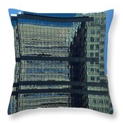 Baltimore Reflections Throw Pillow
