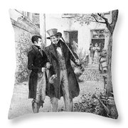 Balzac: Le P�re Goriot Throw Pillow