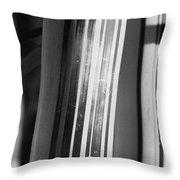 Bamboo Closeup Throw Pillow