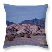 Banded Rocks Throw Pillow