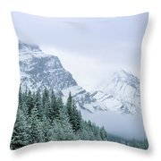 Banff National Park, Alberta, Canada Throw Pillow