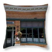 Bank Now Restaurant Throw Pillow