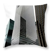 Bank Of America Throw Pillow by S Paul Sahm
