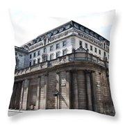 Bank Of England Throw Pillow