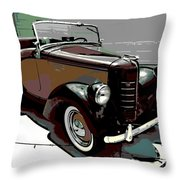Bantam Speedster Throw Pillow
