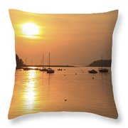 Bantry Bay, Bantry, Co Cork, Ireland Throw Pillow by Peter Zoeller