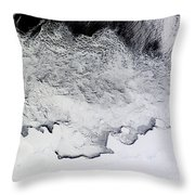 Banzare, Sabrina, And Budd Coasts Throw Pillow